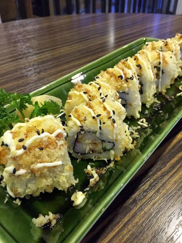 Oedo Japanese Restaurant- Crunch Roll P375