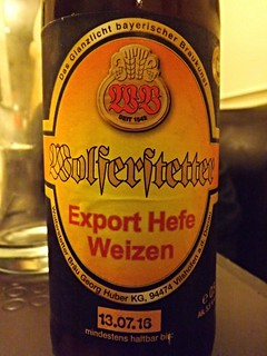 Wolferstetter Bräu, Export Hefe Weizen, Germany