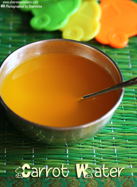 Carrot Soup for Babies