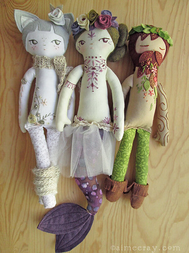 tattooed dolls