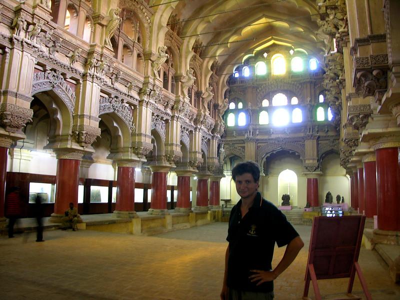 Palacio de Thirumalai Nayak . Salón de baile