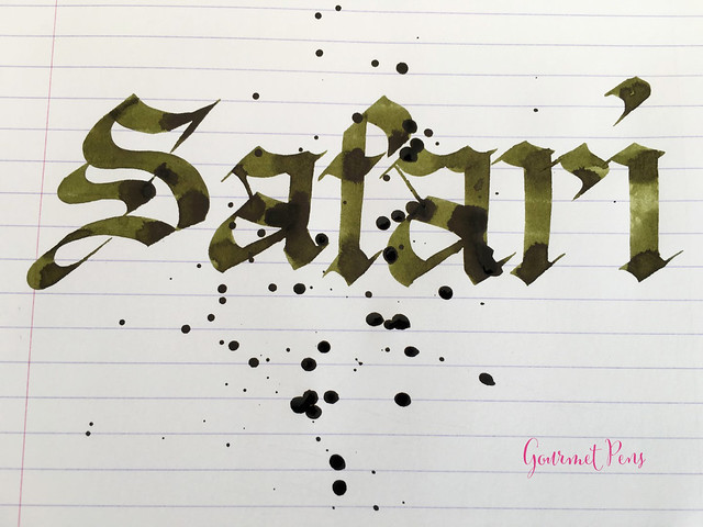 Ink Shot Review Diamine 150th Anniversary Safari @AppelboomLaren (6)