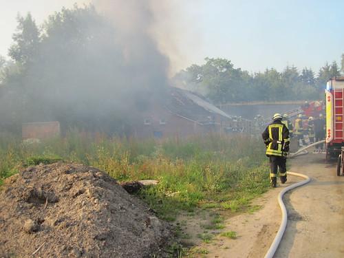 16.07.2015 Gebäudebrand