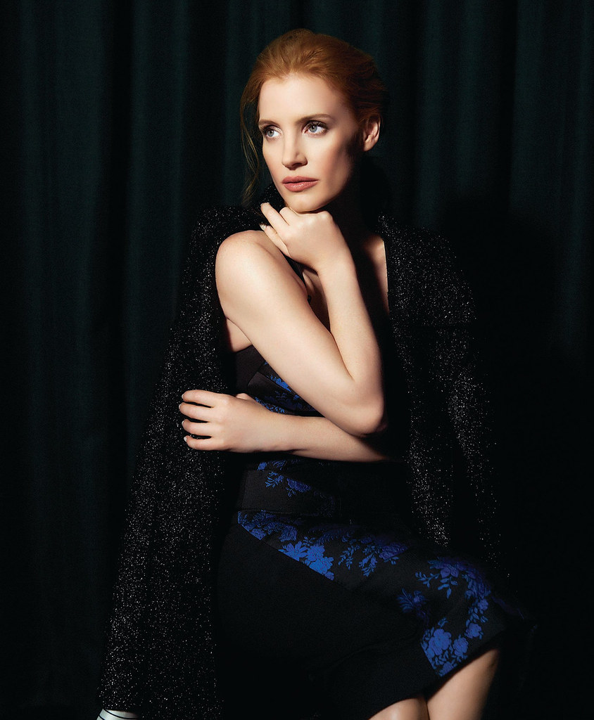 Джессика Честейн — Фотосессия для «Modern Luxury» 2016 – 2