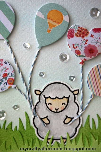 Happy Birthday to Ewe - Detail