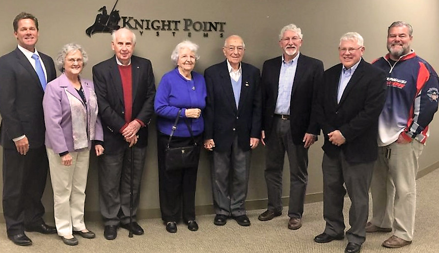 FUMC veterans visit Knight Point Systems
