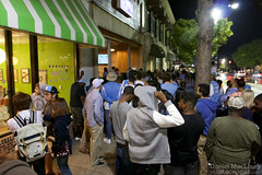UNC fans pack Franklin St
