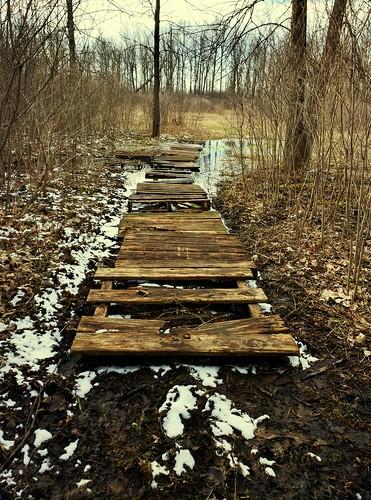 bridge water outdoors crossing pallet