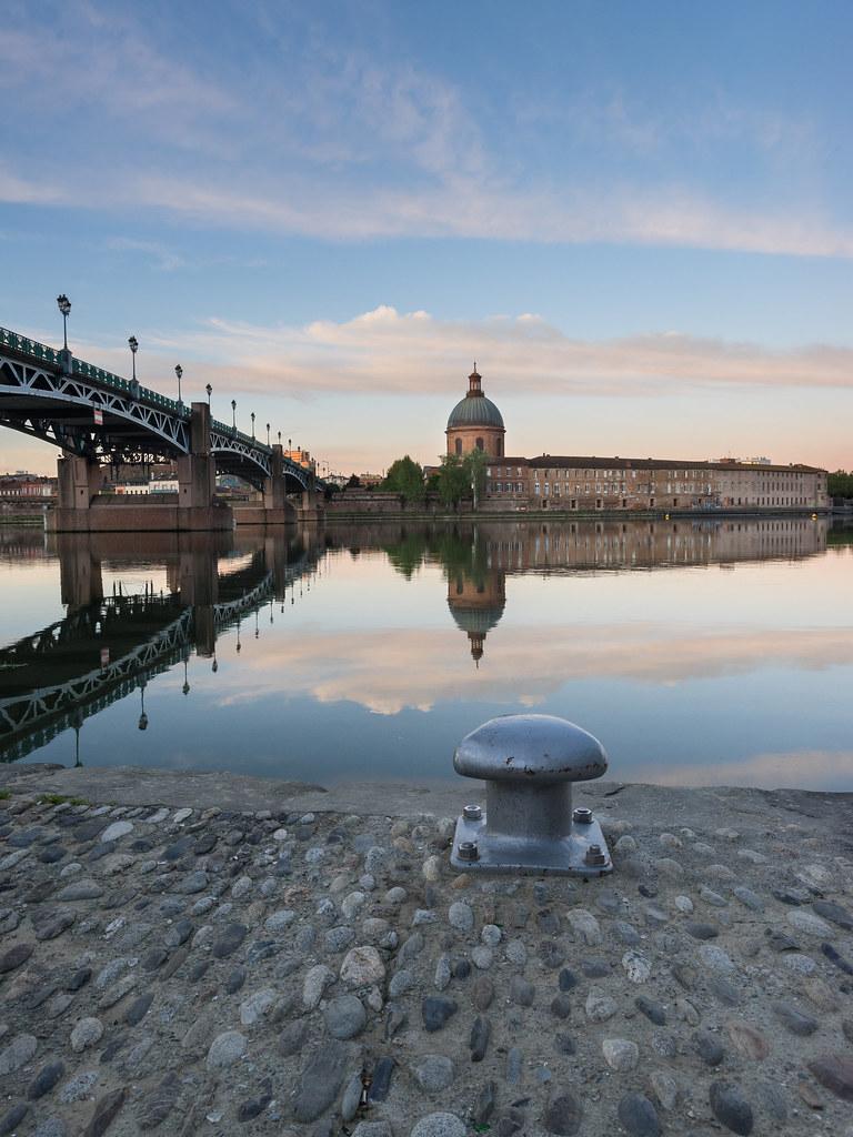 Heure bleue sur Toulouse 26253092200_6af934428e_b