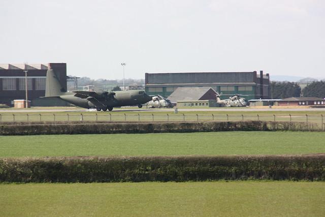 Royal Air Force Merlin & Hercules 19APR16 - Gerallt Marsh