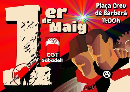 1r de Maig a Sabadell