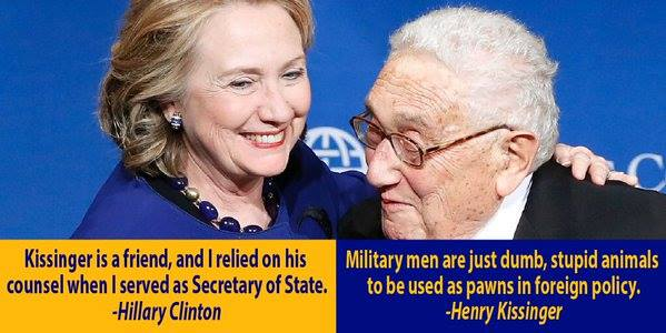 Hillary and Kissinger quotes