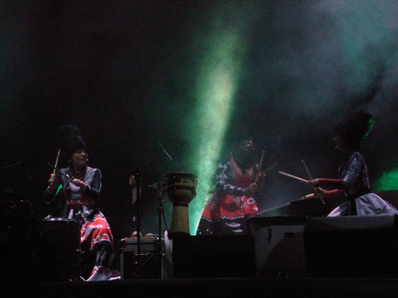 DakhaBrakha live performence at KPI, Kiev