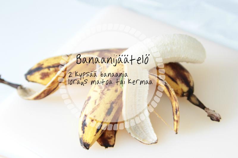 Banaanijäätelö