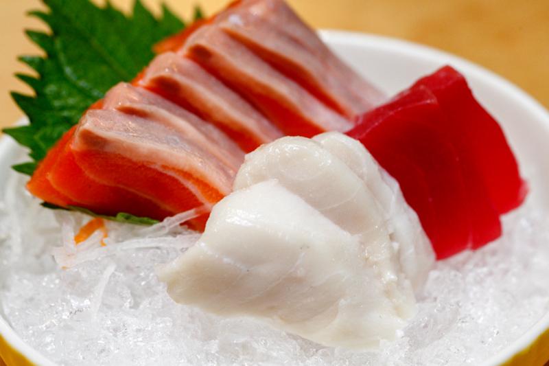 Mitasu Japanese buffet Butter Fish Sashimi