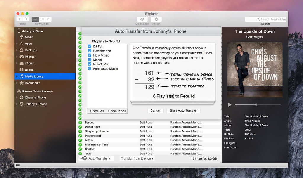 iExplorer 4 3 1 – View and transfer all the files on your