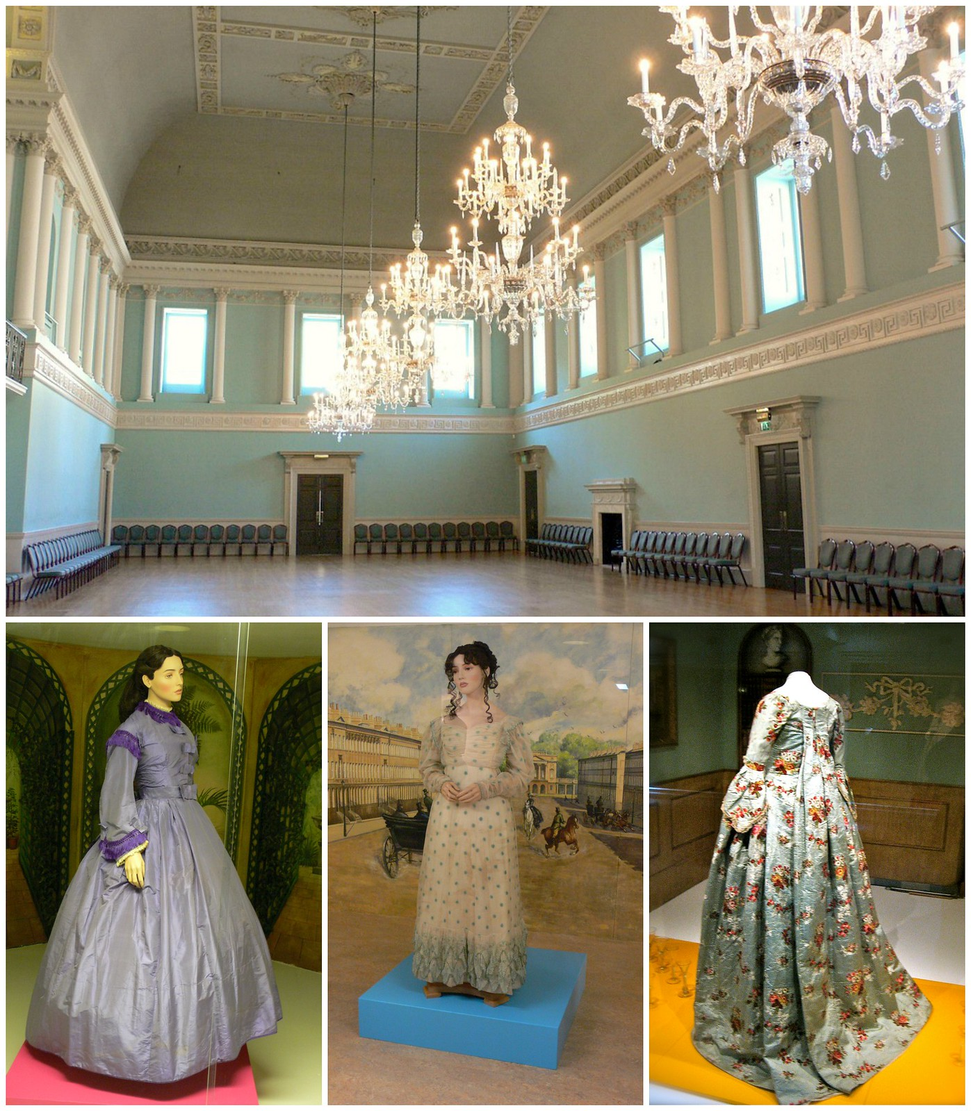 Assembly Rooms and Fashion Museum. Credit: Heather Cowper, flickr; Lisby, flickr
