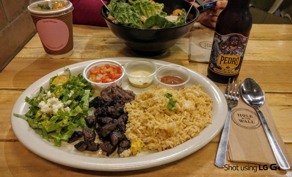 Carne Asada Rice, Hole in the Wall-1
