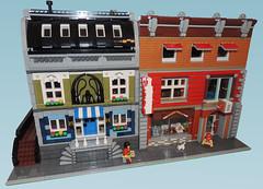 Lego Baseball Shop