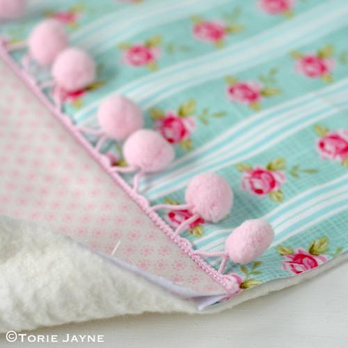 Pretty tote sewing tutorial 6