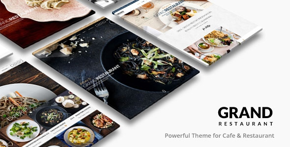ThemeForest Grand Restaurant v1.6.2 - Restaurant Cafe Theme