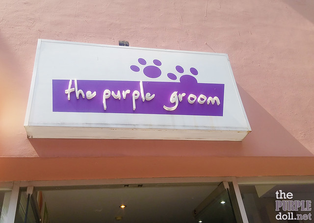 The Purple Groom Pet Salon in California Garden Square