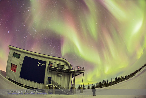 Gazing at the Aurora from Churchill