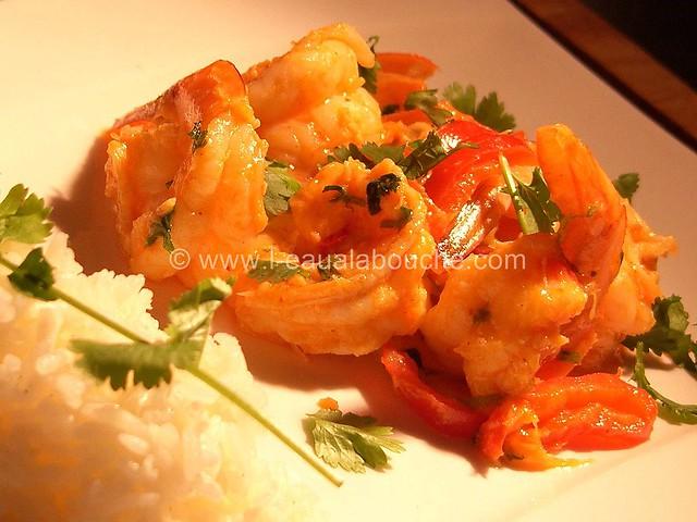 Crevettes Thaï à la Mangue © Ana Luthi Tous droits réservés 000011