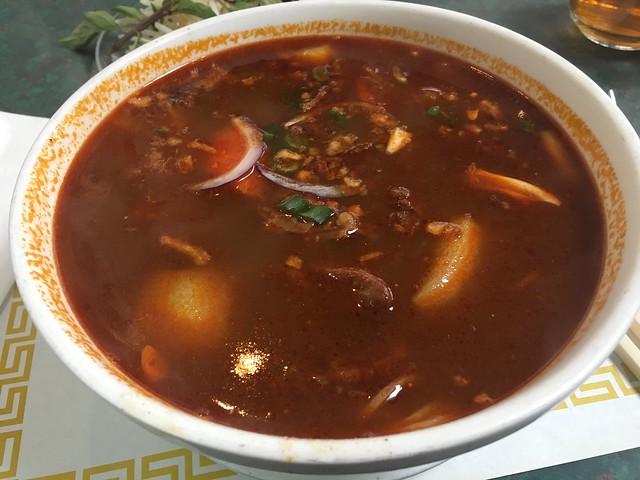Beef stew noodle soup - Sai's Restaurant