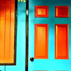 #colorful door #bangkok