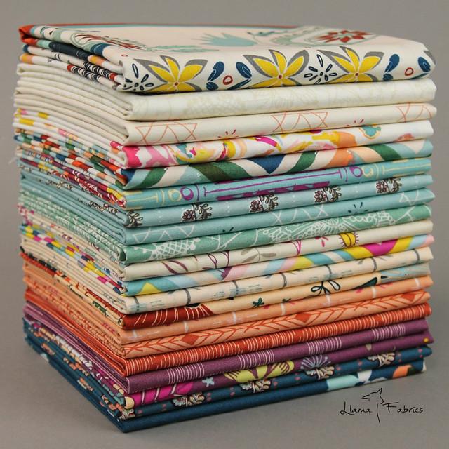 Fleet & Flourish ~ Llama Fabrics