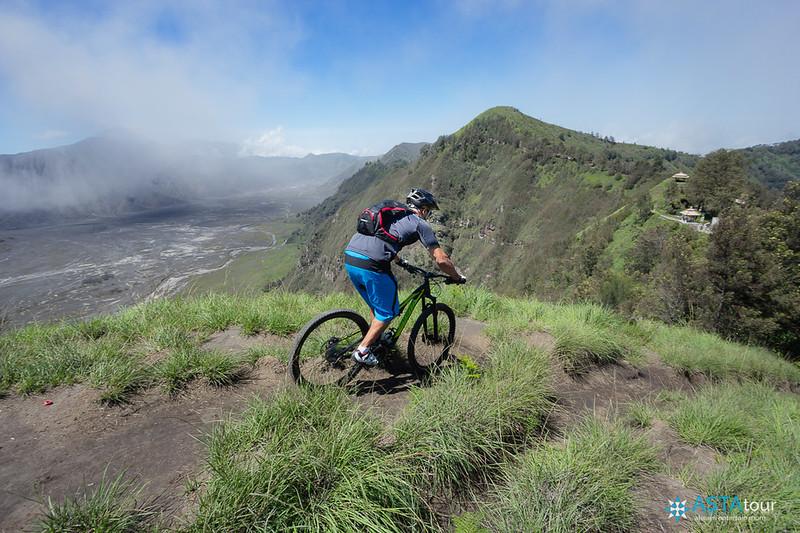 Mountain Biking Bromo tour of Mr Yaser Shala