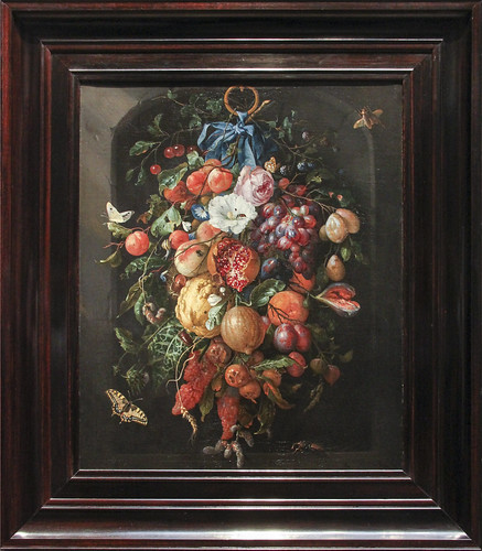 Feston of Fruits and Flowers, Jan Davidsz de Heem, 1660-70