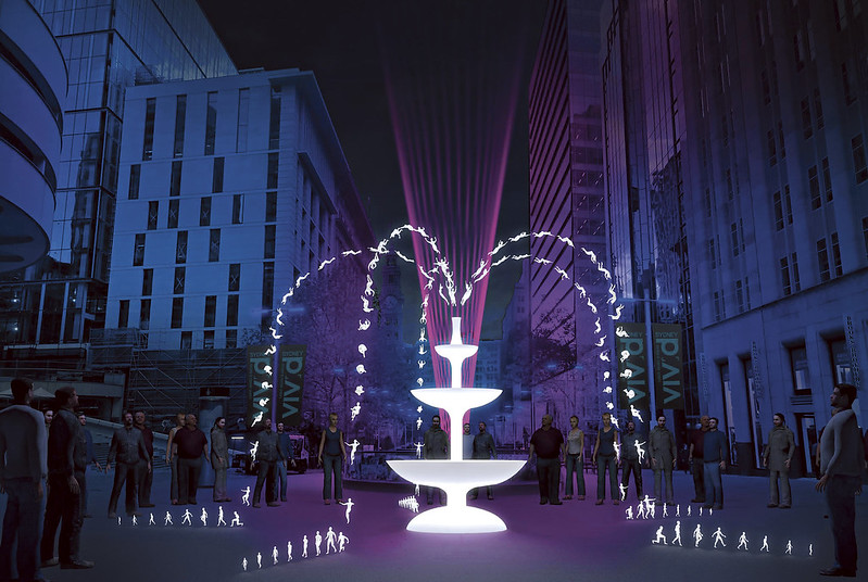 Fountain - artist impression by Ample Projects