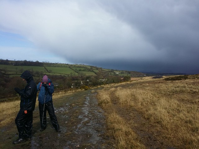 Hail storm passed. Gibbet Hill