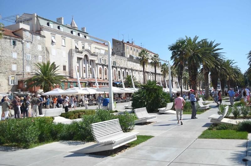 Riva, Split, Croácia