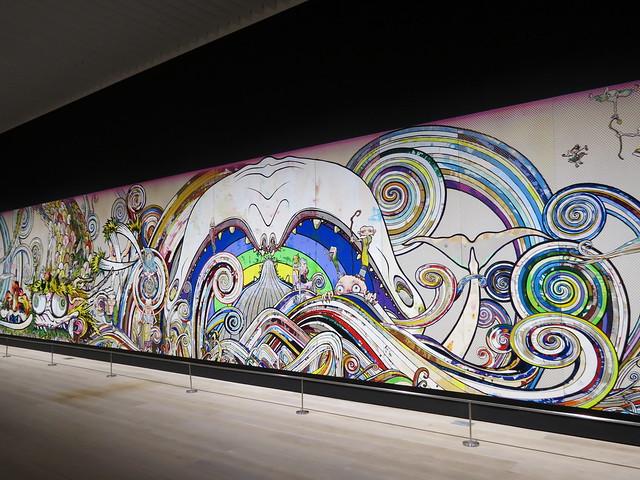 Takashi Murakami: The 500 Arhats, Mori Art Museum, Tokyo