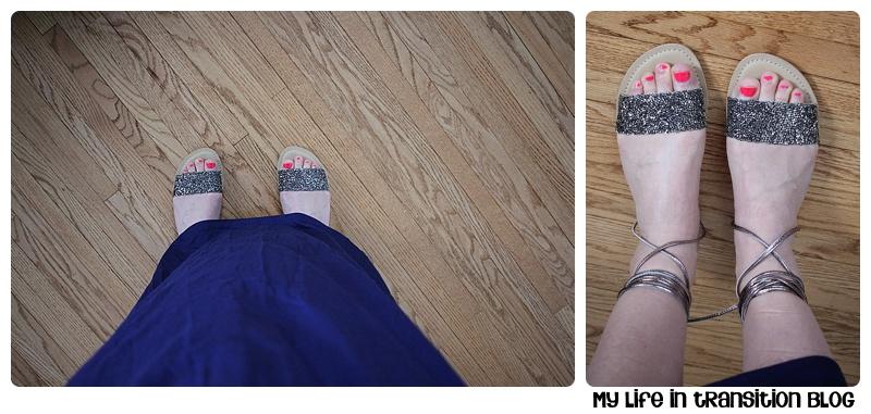 Diba Delmara Embellished Lace Up Sandals $60