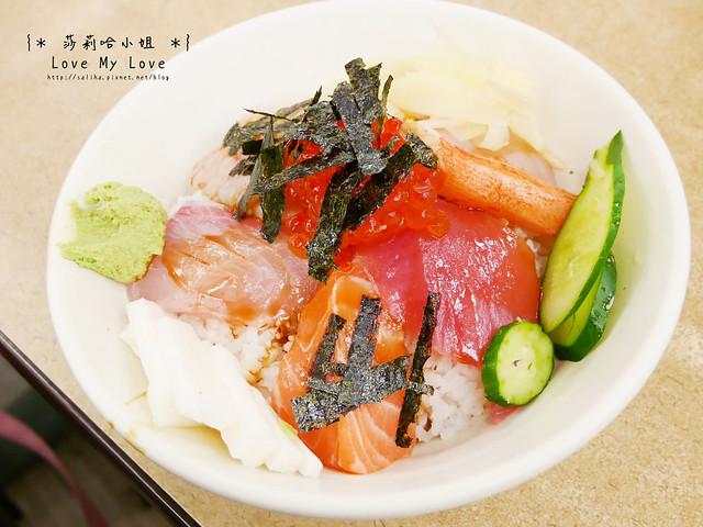 台北西門町美食餐廳推薦美觀園生魚片飯壽司菜單