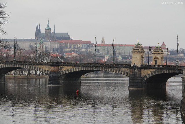 Legion Bridge and Prague Castle