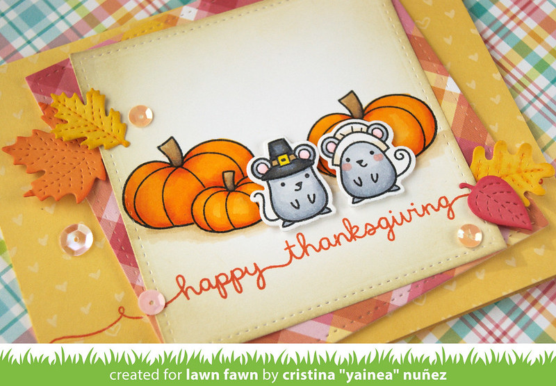 Happy Thanksgiving - detail