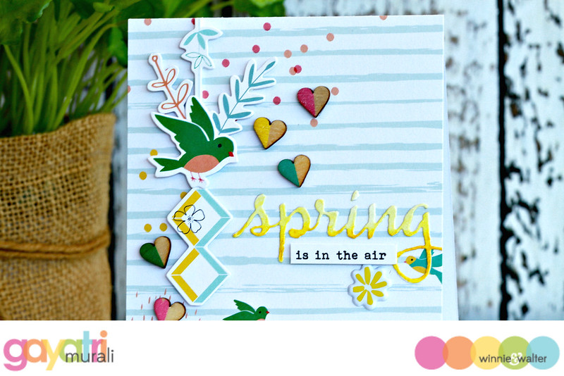 Spring card closeup#1