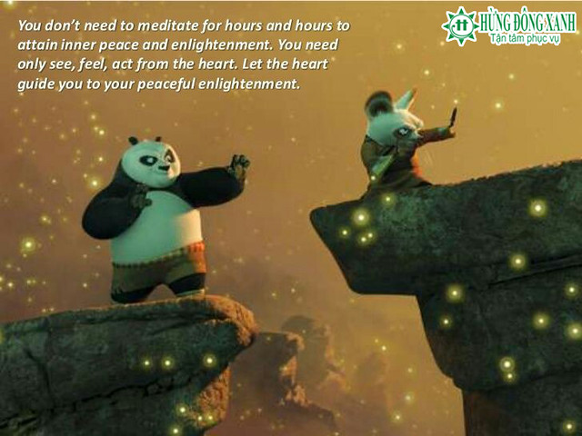 Học tiếng anh từ phim Kungfu Panda