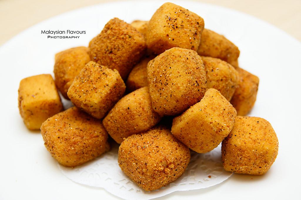 Paradise Inn fried tofu