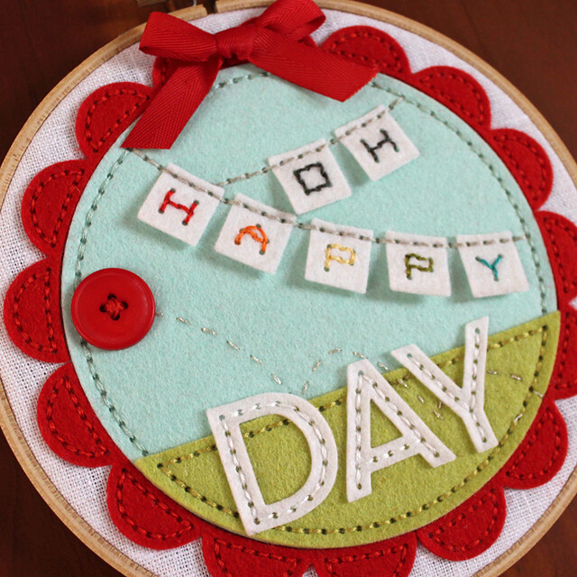 Oh Happy Day Hoop Close Up 2