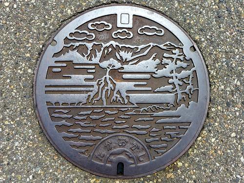 Takaoka Toyama, manhole cover 4 (富山県高岡市のマンホール4)