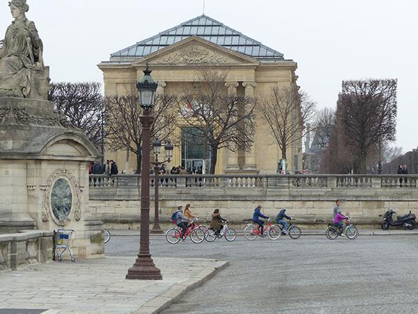 des vélos à la concorde