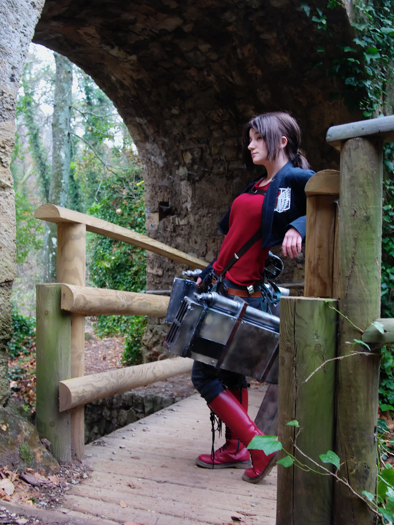related image - Shooting Shingeki no Kyojin - Parc de Saint Pons - Gemenos - 2015-12-19- P1260318