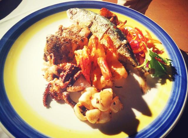Seafood Grills Platter