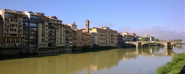 river arno florence day